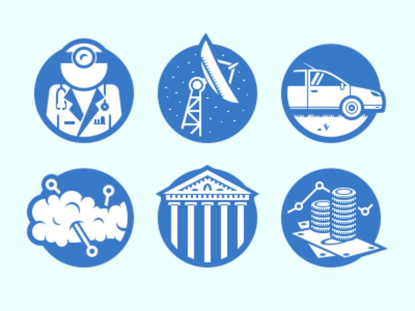 Iconos de Sectores Empresariales 0