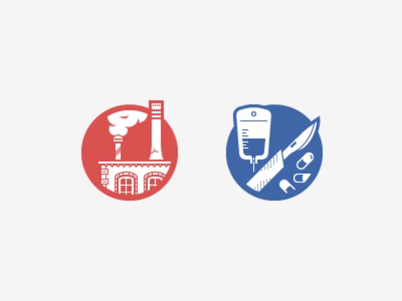 Iconos de Sectores Empresariales 1