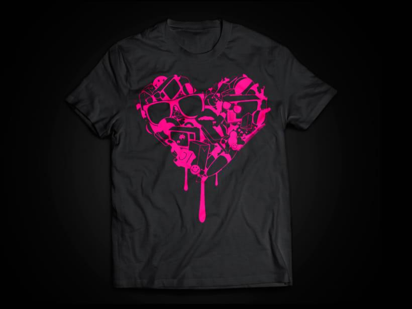 Camiseta corazón 1