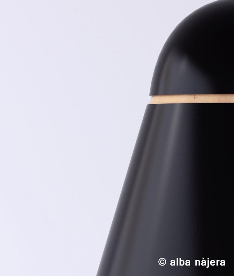 Modelado de una lampara -3D 0