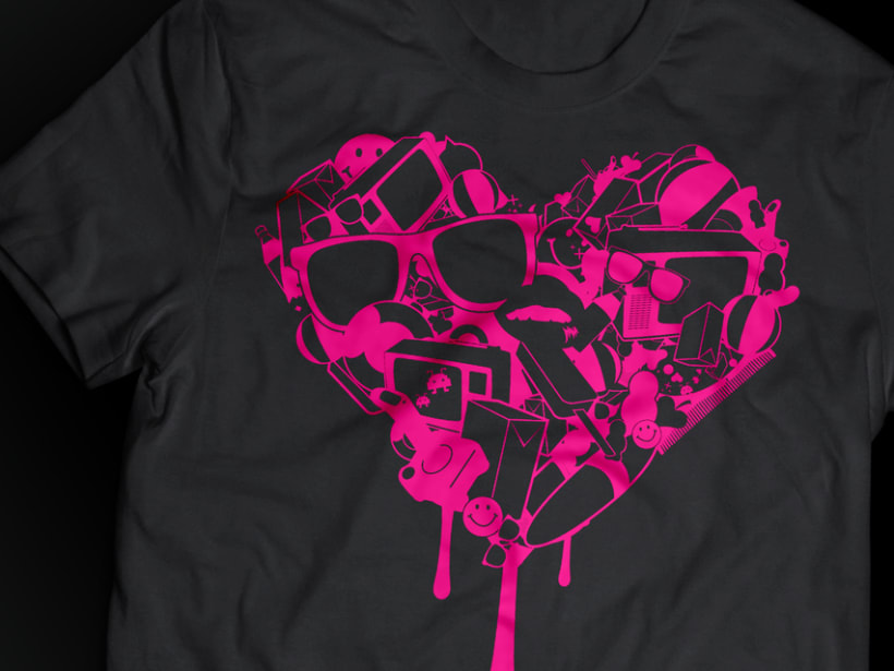Camiseta corazón 2