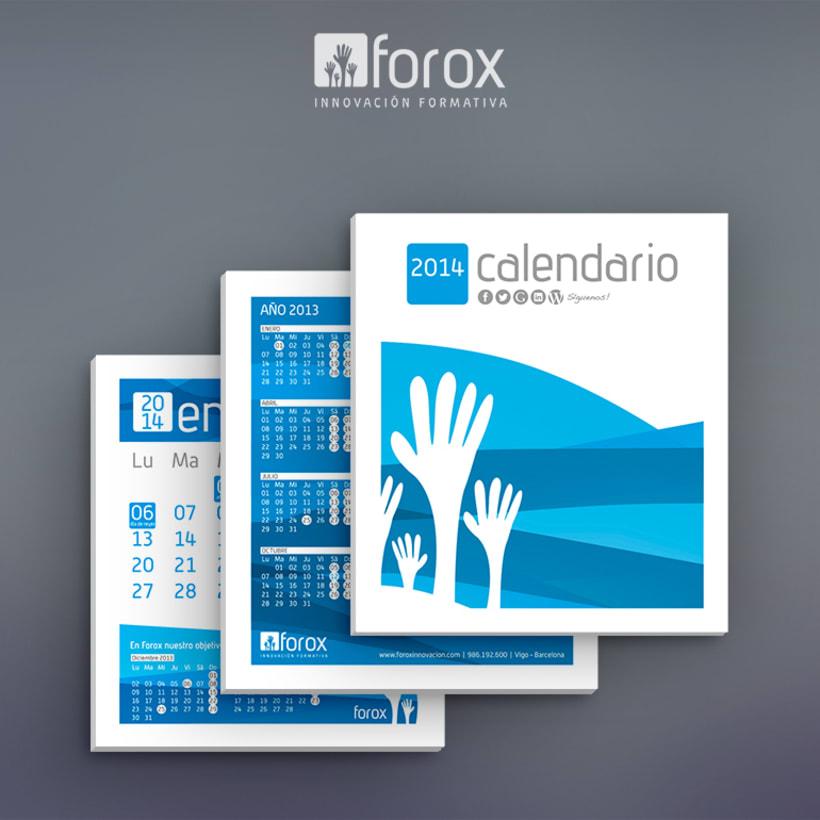 Calendario 2014 para Forox 2
