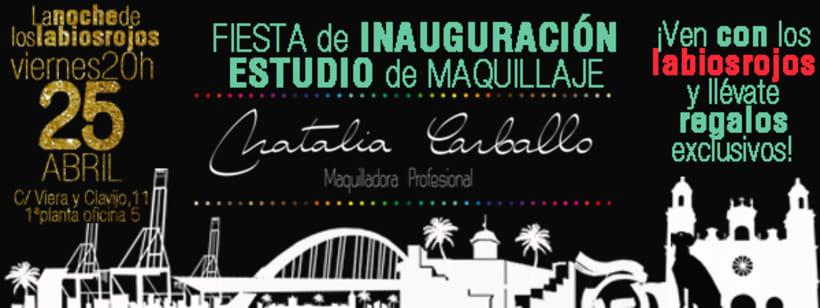 Lanzamiento Estudio de Maquillaje Natalia Carballo 0