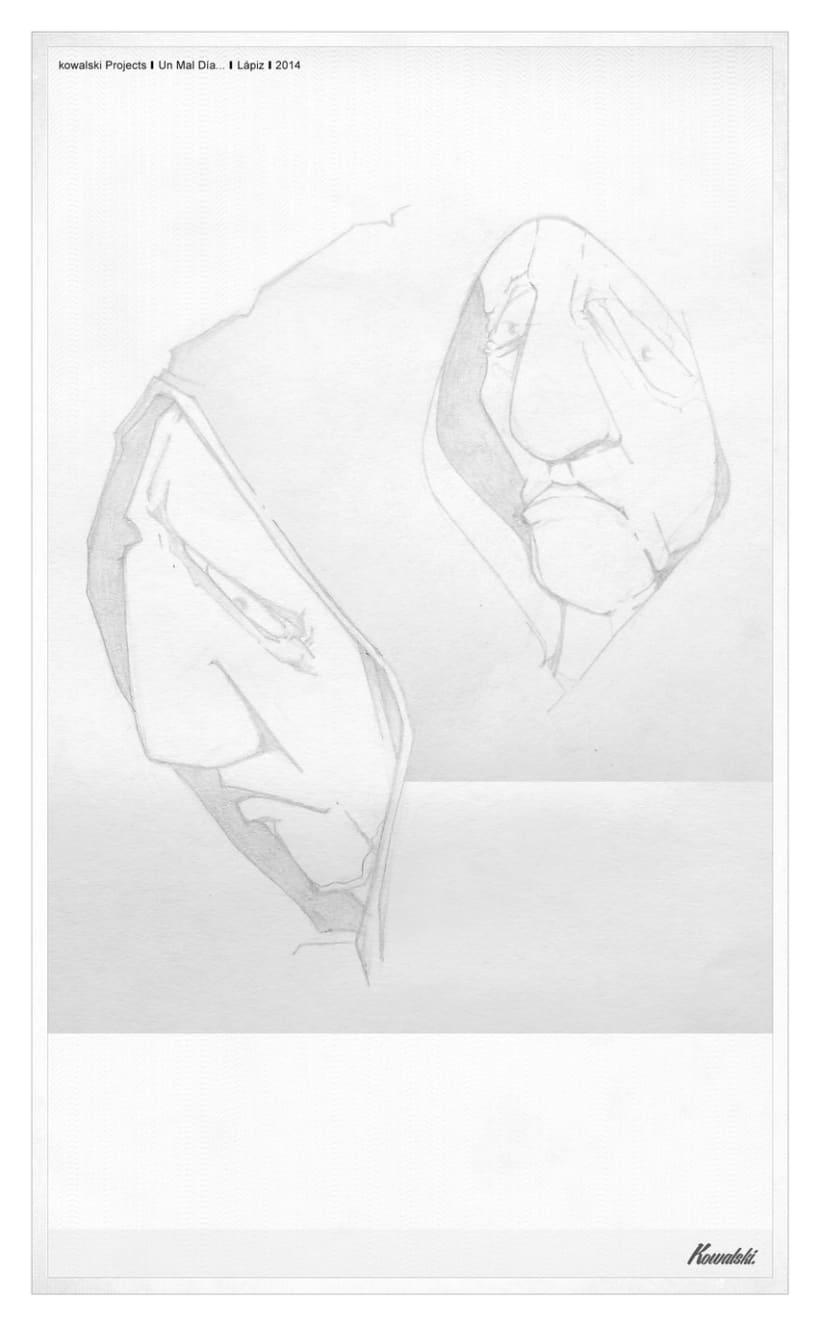 Kowalski Projects / Dibujo - Un mal día - -1