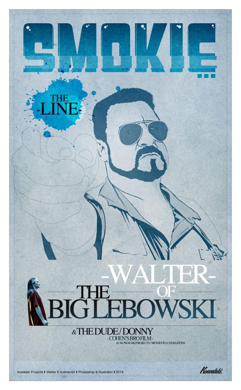 Kowalski Projects / Movies Illustration - Walter - -1