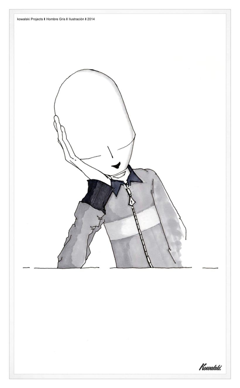 Kowalski Projects / Illustration - Hombre Gris - -1