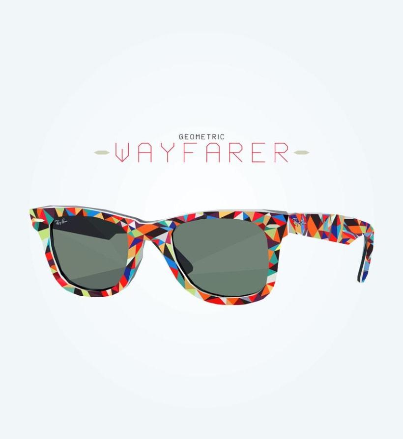 Geometric Ray Ban Wayfarer 0