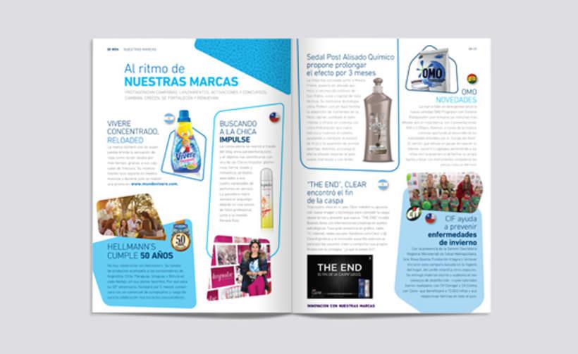 Ui. Unilever Magazine. Cono Sur 5
