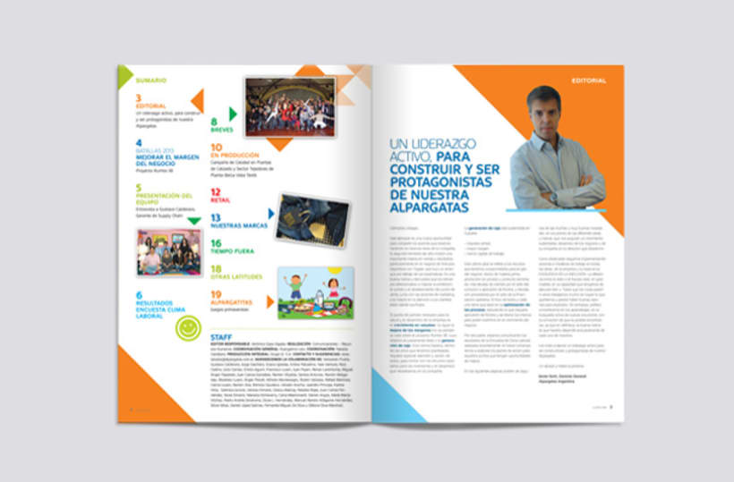 Lazos. Alpargatas Magazine 1