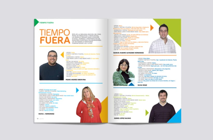 Lazos. Alpargatas Magazine 5