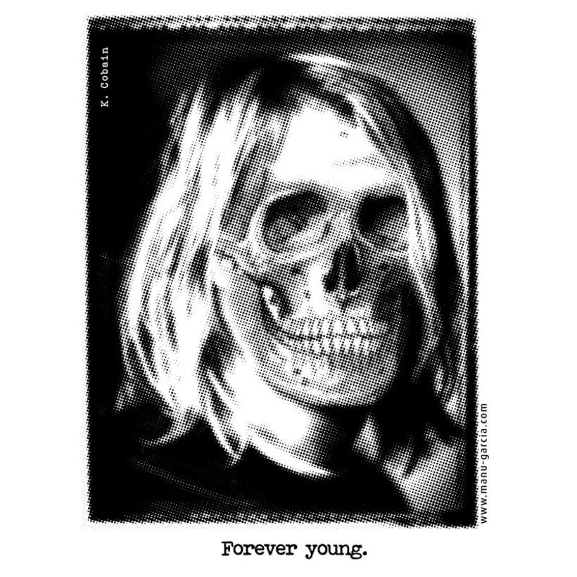Kurt Cobain - Forever young -1