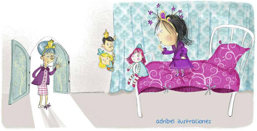 Princess's stay awake  6