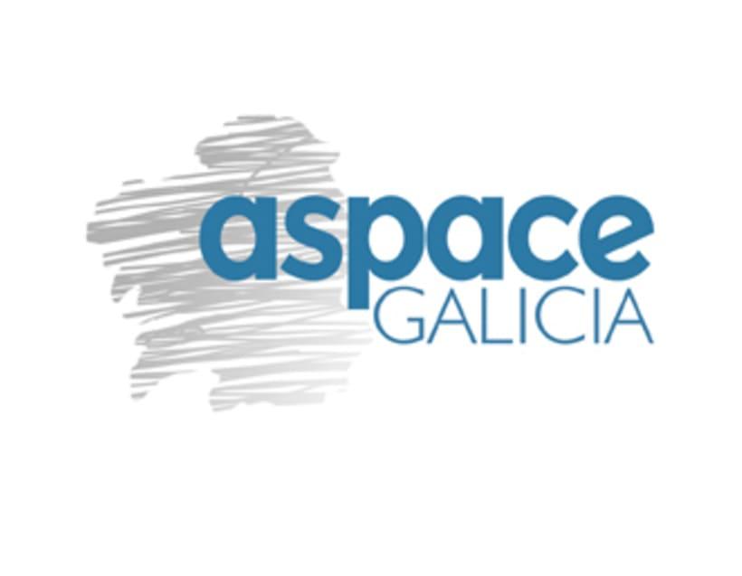 Imagen corporativa de la empresa ASPACE-Galicia 1