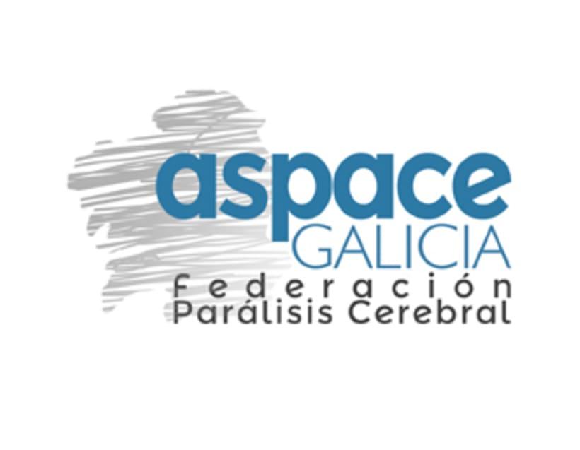 Imagen corporativa de la empresa ASPACE-Galicia 2
