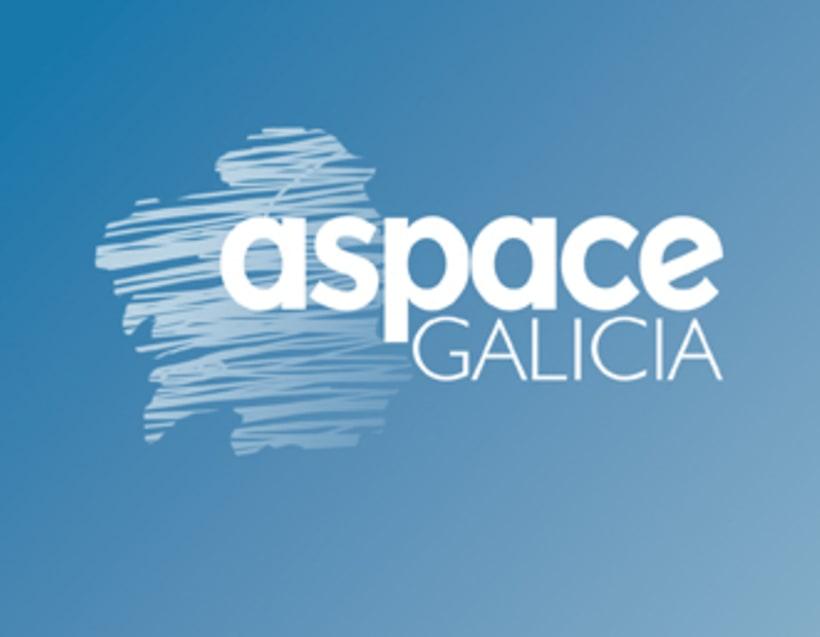 Imagen corporativa de la empresa ASPACE-Galicia 3