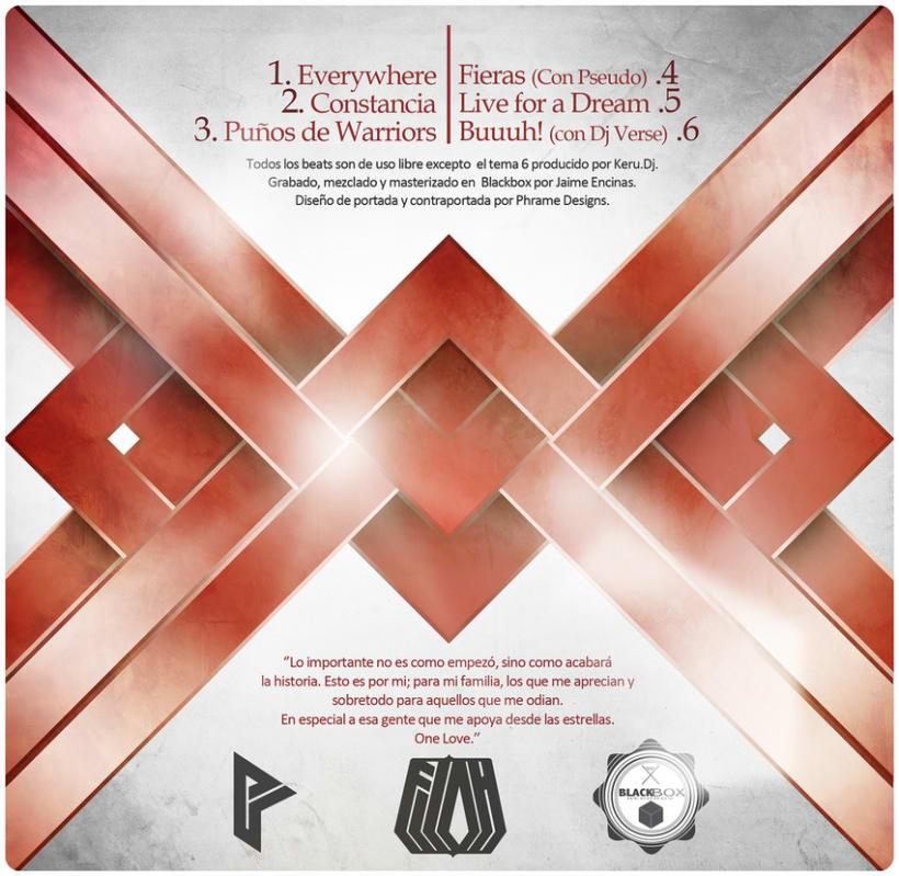 Diseño de disco ''Machaque'' de Filoh 0