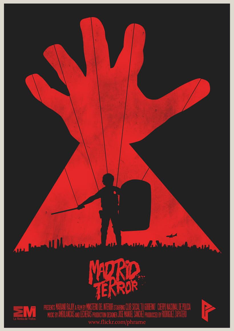 Poster ficticio ''MadridTerror'' 0