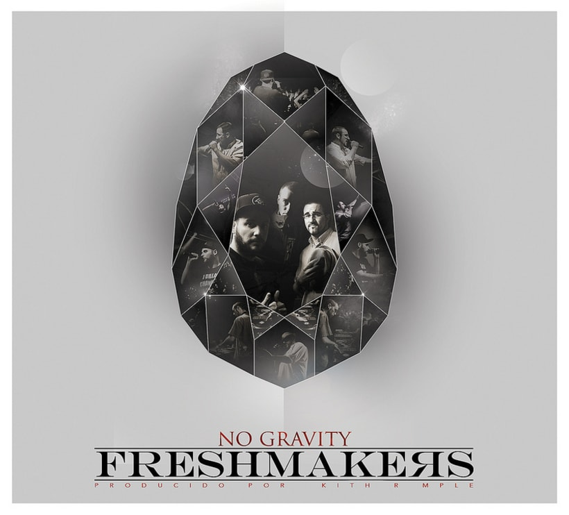 Diseño de disco ''No gravity'' de Freshmakers -1