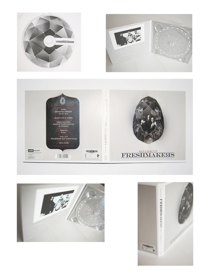 Diseño de disco ''No gravity'' de Freshmakers 1