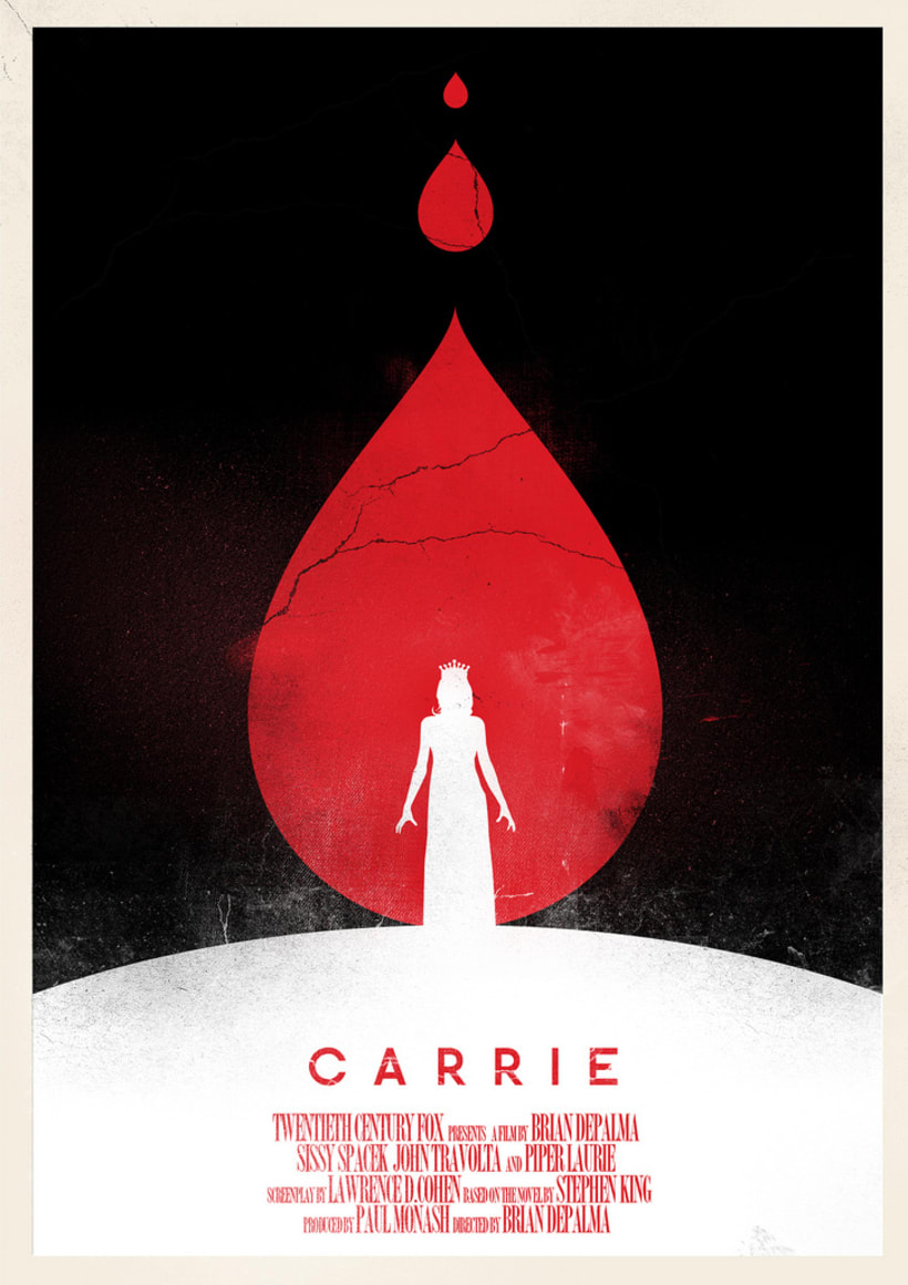 Poster ''Carrie'' -1