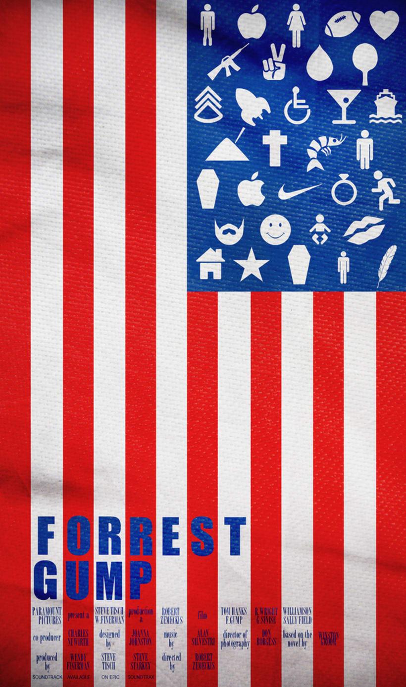 Poster ''Forrest Gump'' -1
