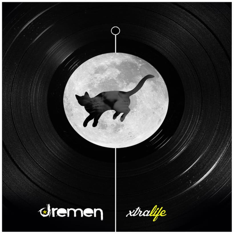 Diseño de disco para ''Xtralife'' de Dremen -1