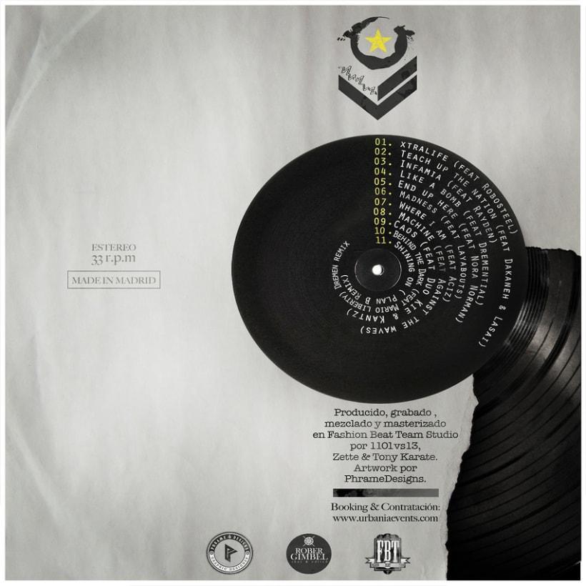 Diseño de disco para ''Xtralife'' de Dremen 0