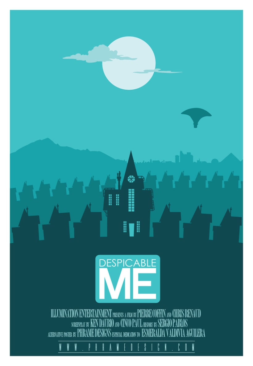 Poster ''Gru, mi villano favorito'' (Despicable me) -1