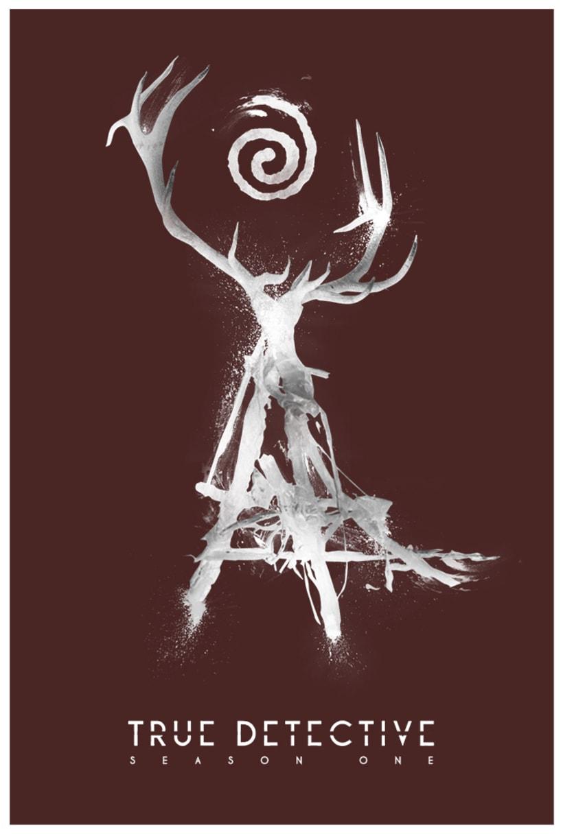 Poster ''True Detective Season.1'' -1