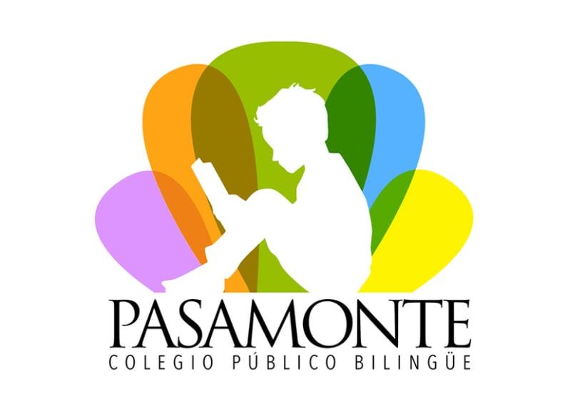 Logotipo para Colegio Pasamonte -1
