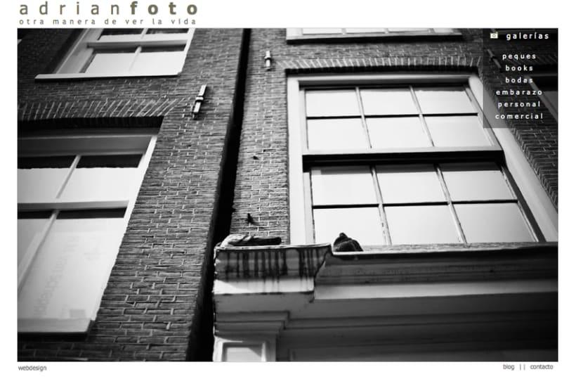 Página Web ADRIANFOTO 0