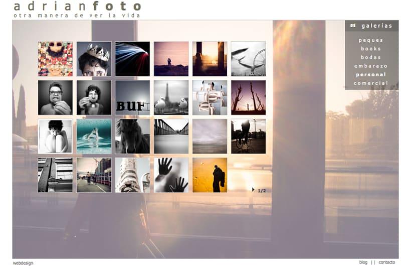 Página Web ADRIANFOTO 1