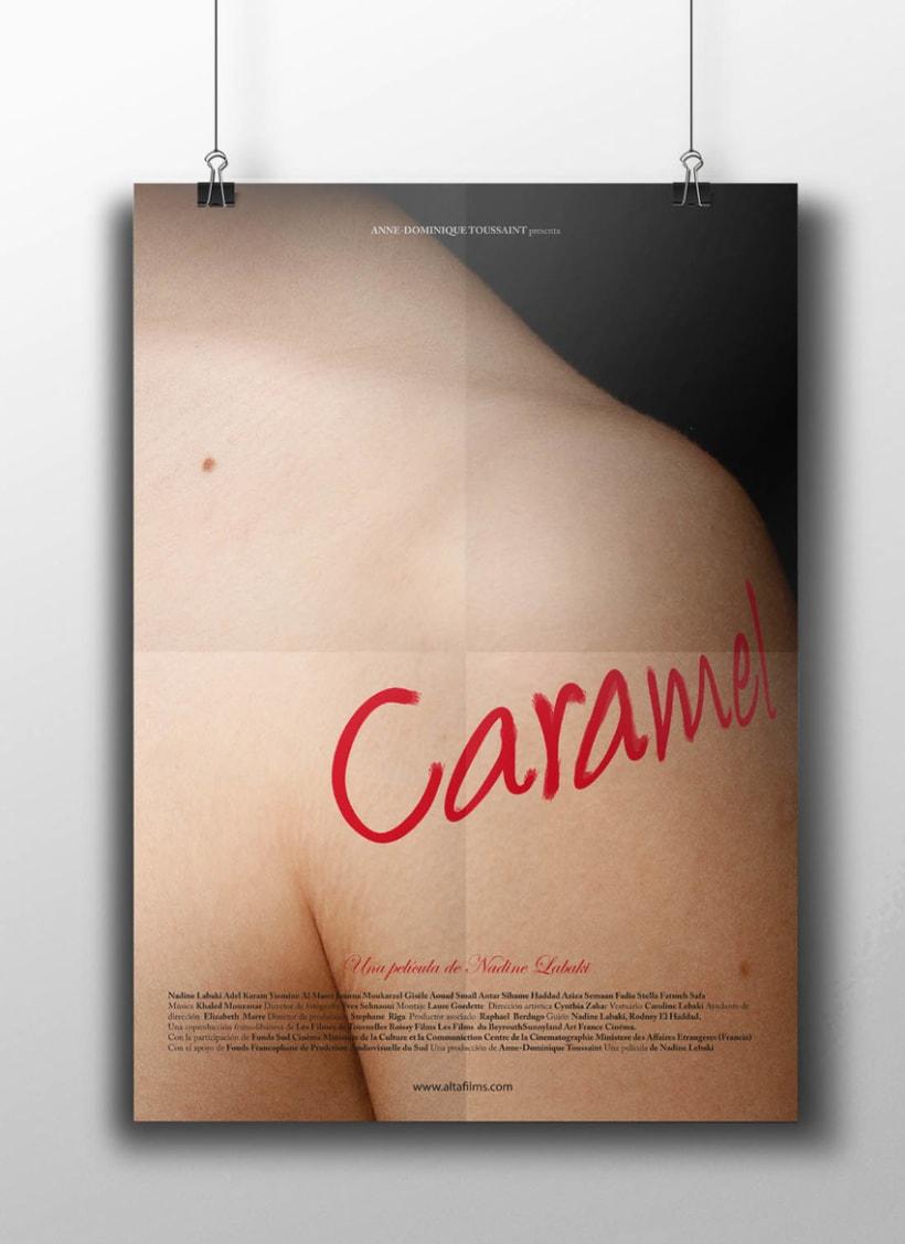 Cine de género. Serie de carteles cinematográficos 0