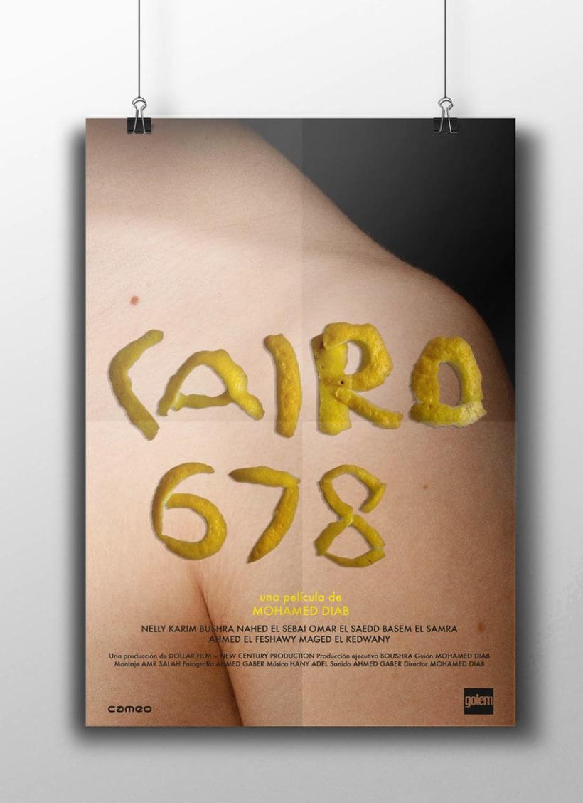 Cine de género. Serie de carteles cinematográficos 1
