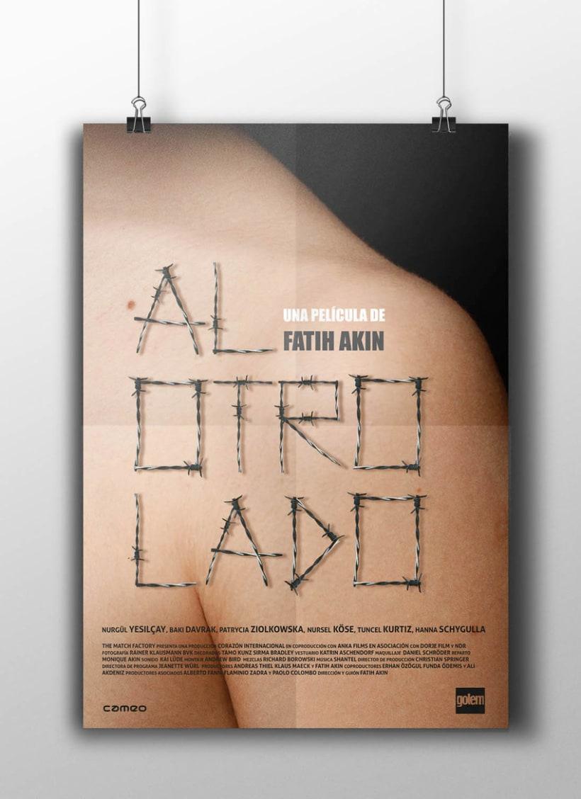 Cine de género. Serie de carteles cinematográficos 2