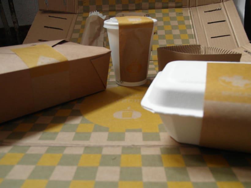 Packaging Woki organic market. Comida take away ecológica -1