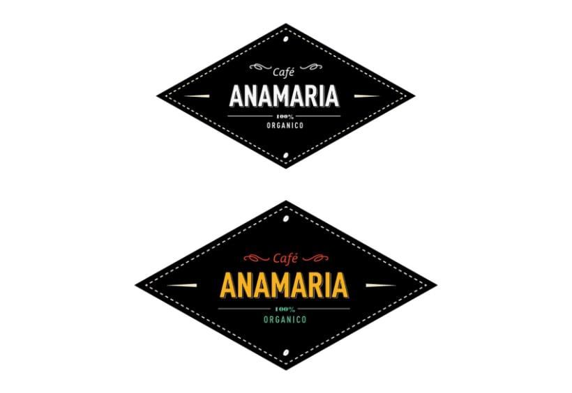 Logo  Café AnaMaría 2