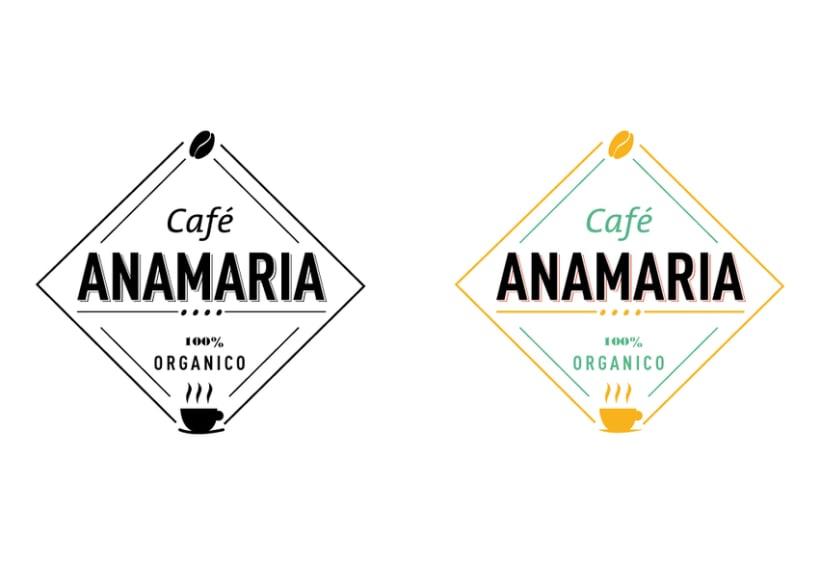 Logo  Café AnaMaría 3
