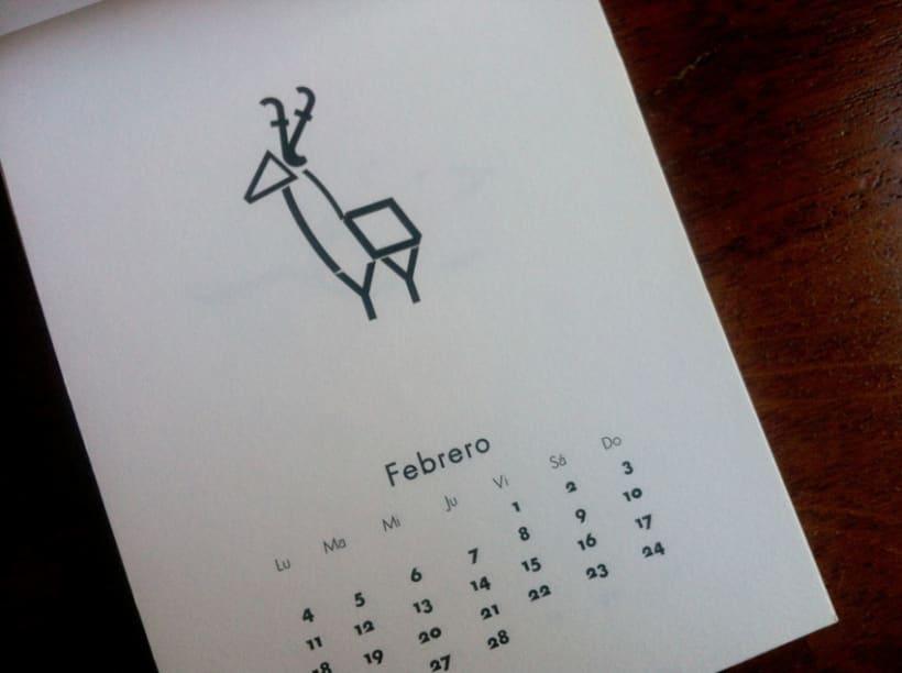Calendario Futura. 1