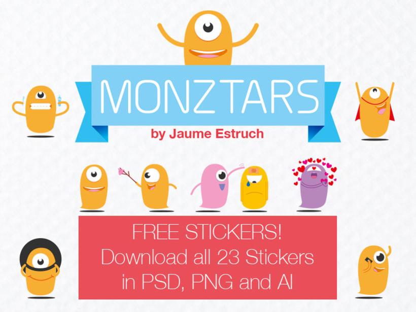 Monztars Stickers 0