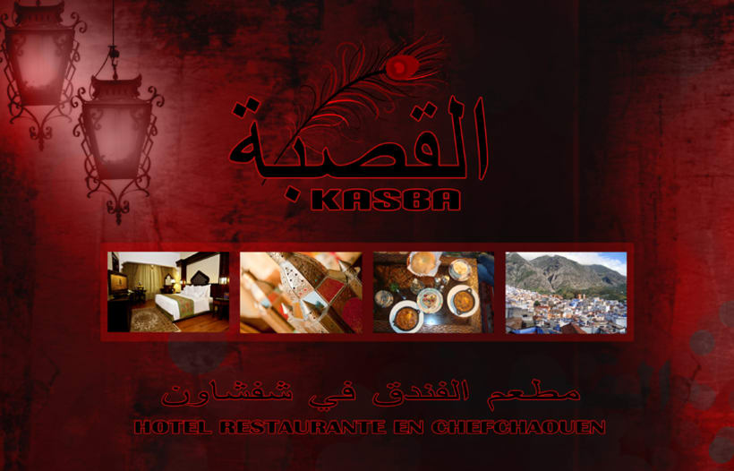 Desarrollo web para Hotel-Restaurante Al Kasba en Marruecos -1