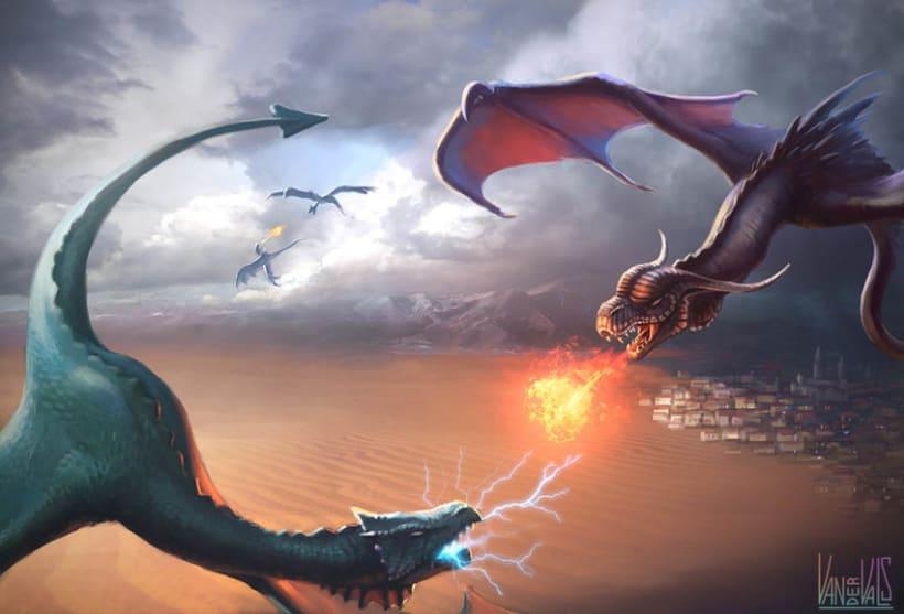 Ilustraciones de fantasía 3