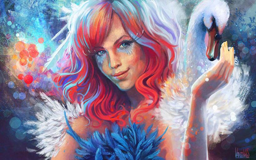 Ilustraciones de fantasía 5