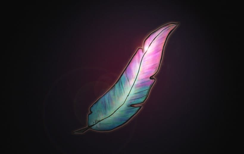 Pluma India - Indian Feather 0