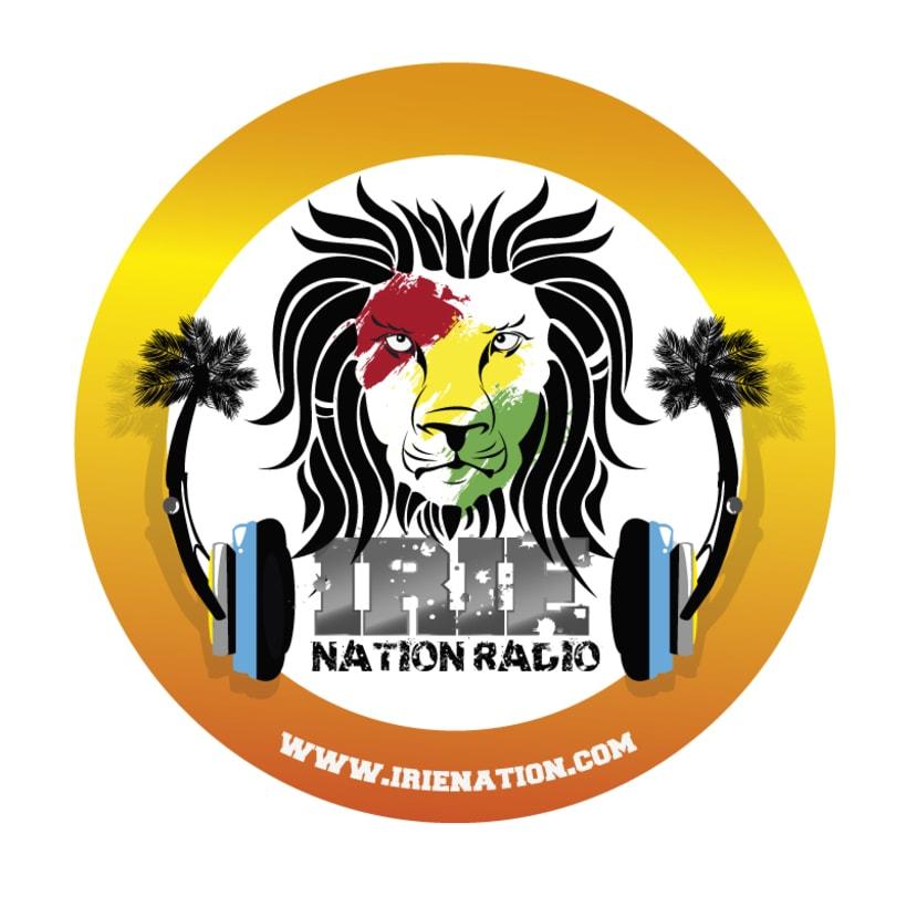 Logo y Banner para emisora de radio especializada en reggae, San Diego - California 0