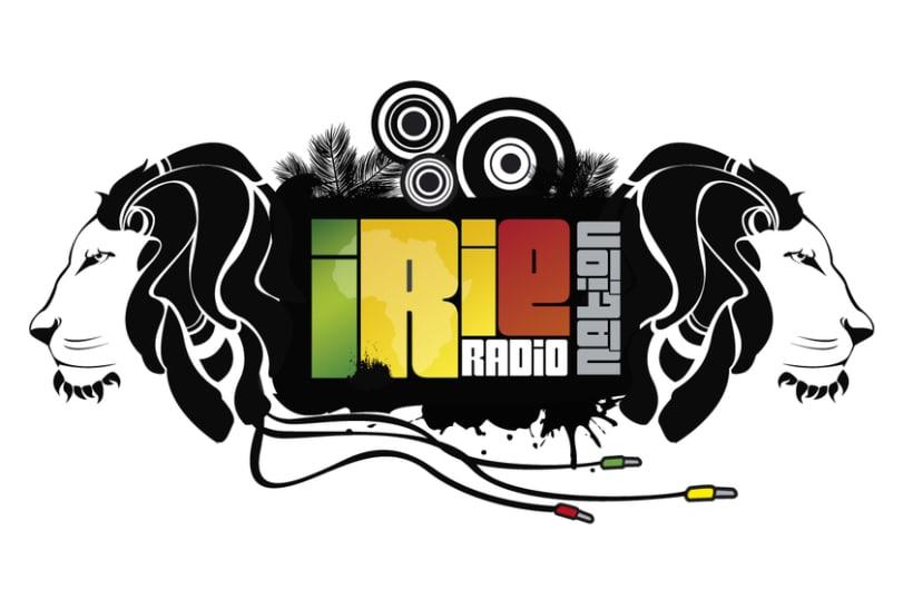 Logo y Banner para emisora de radio especializada en reggae, San Diego - California 1