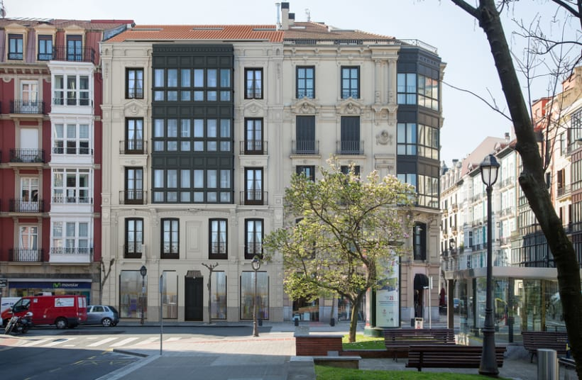 Fachada Colón de Larreátegi, 27 (Bilbao) 0