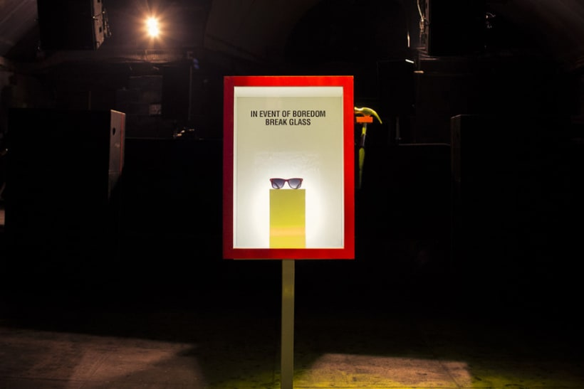 In Event of Boredom, Break Glass (Street rodado en Londres para Mola Club) 1