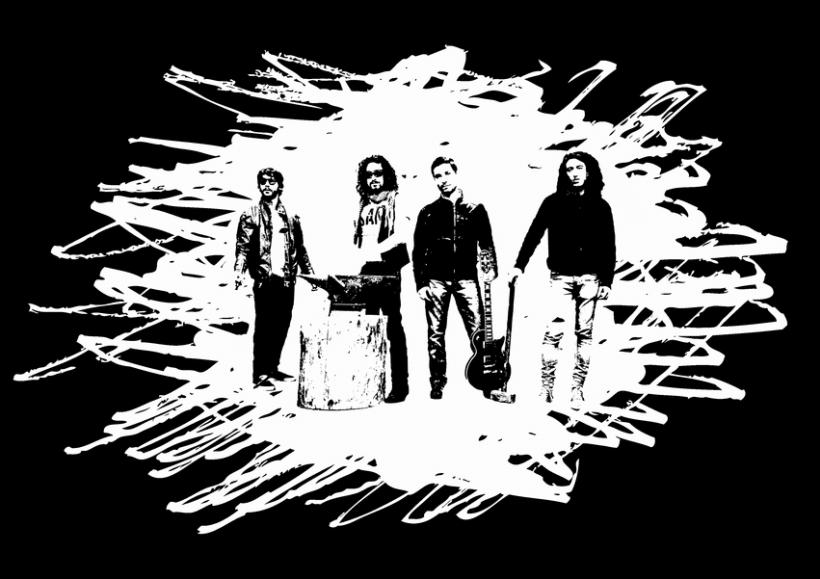 Diseño merchandising banda de rock Himalia -1