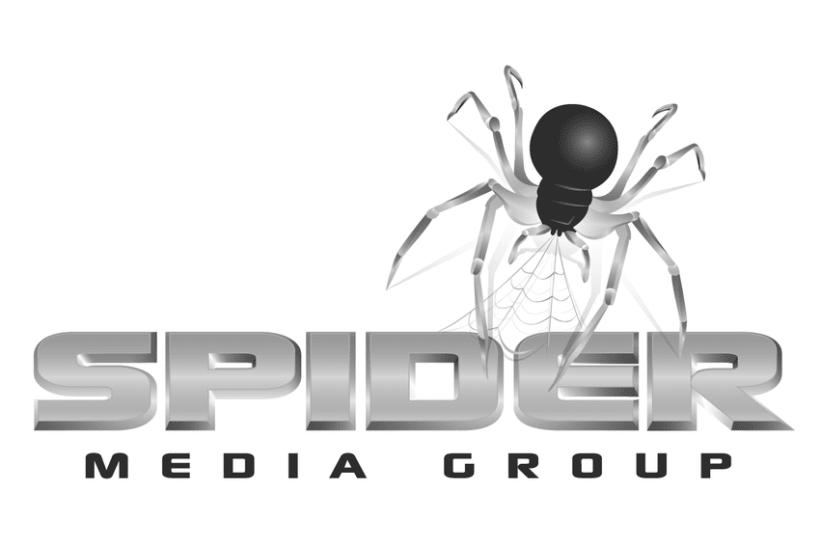 Logo para empresa de medios de comunicación Spider 0